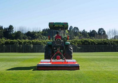 Multi-spindled roller mower - ideal for sports grounds and reserves